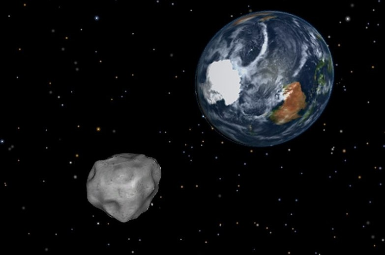 wordlessTech | Asteroid 2012 DA14 will pass very close to ...