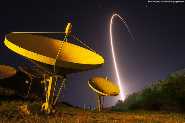 Atlas V Launches TDRS-K