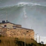 Big Wave Surfing Nazare Portugal
