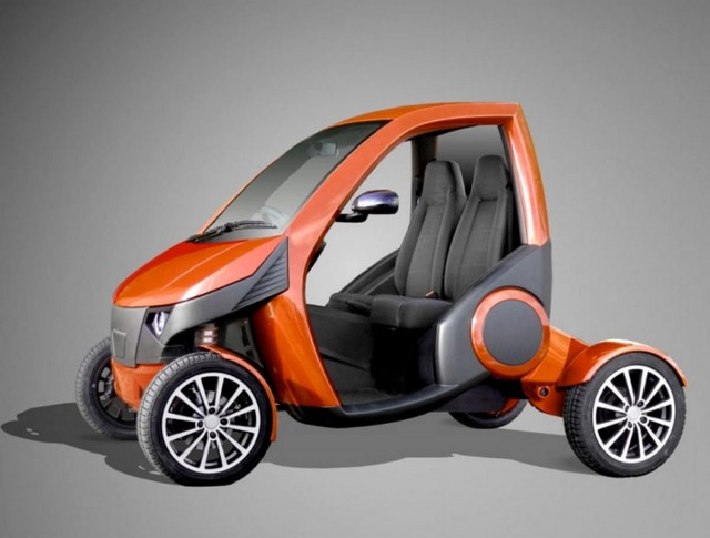 Casple-Podadera Folding city car