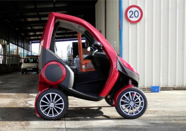 Casple-Podadera Folding city car (5)