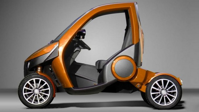 Casple-Podadera Folding city car (4)