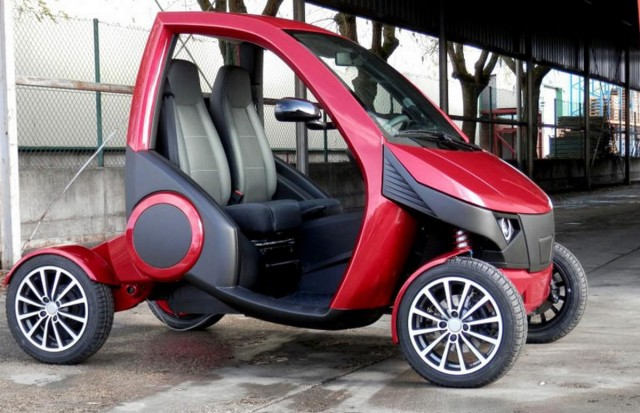 Casple-Podadera Folding city car (3)