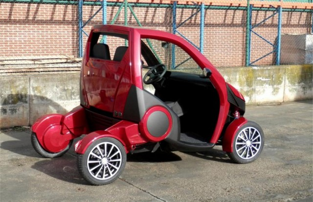Casple-Podadera Folding city car (2)