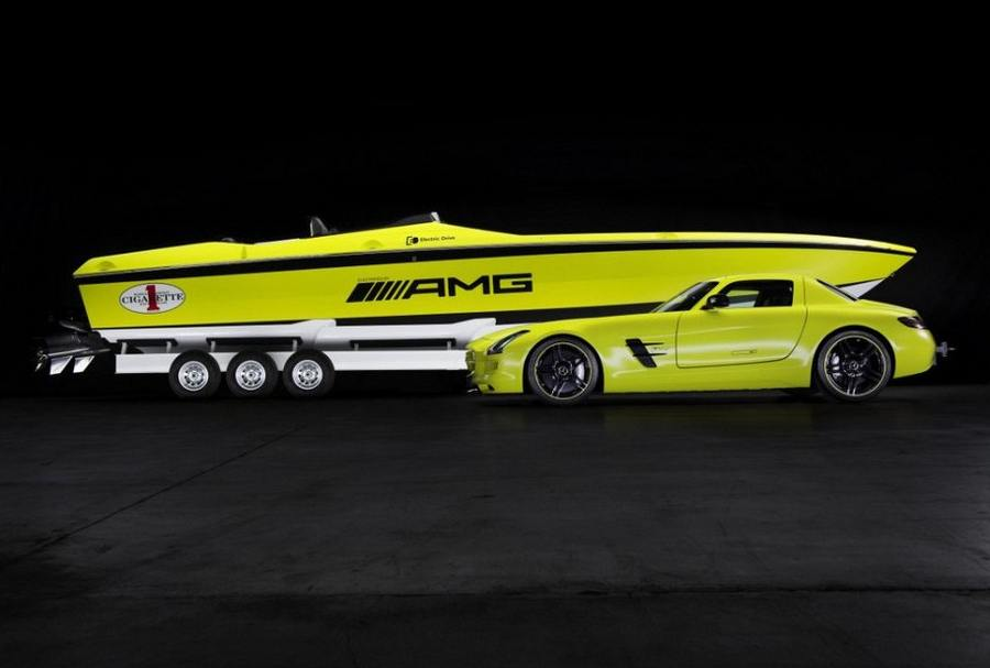 Cigarette AMG the World's Fastest Electric Boat (17)