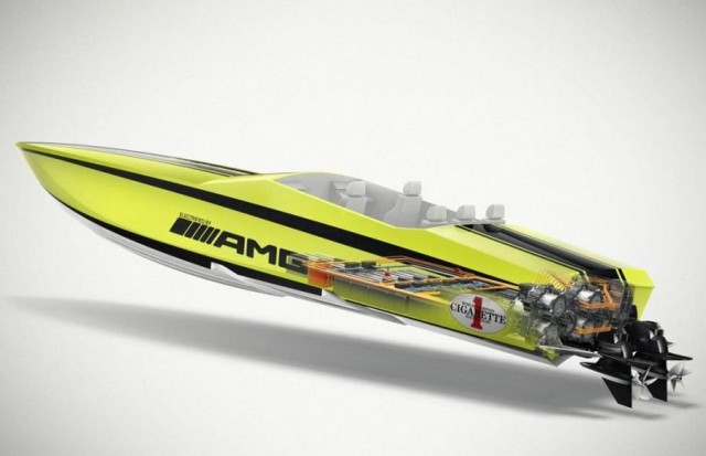 Cigarette AMG the World's Fastest Electric Boat (4)