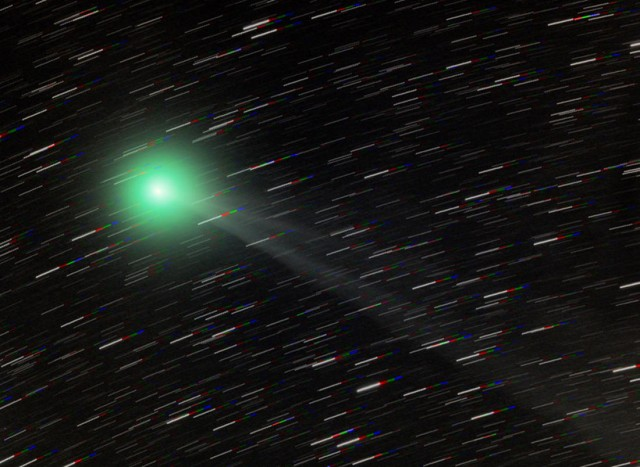 Comet Lemmon in Southern skies