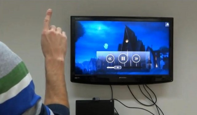 EyeSight fingertip-tracking technology