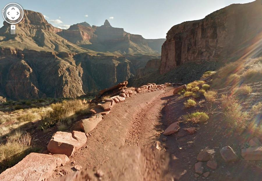 Grand Canyon Virtually with Google Maps