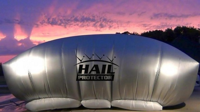 Hail Protector The External Airbag Wordlesstech