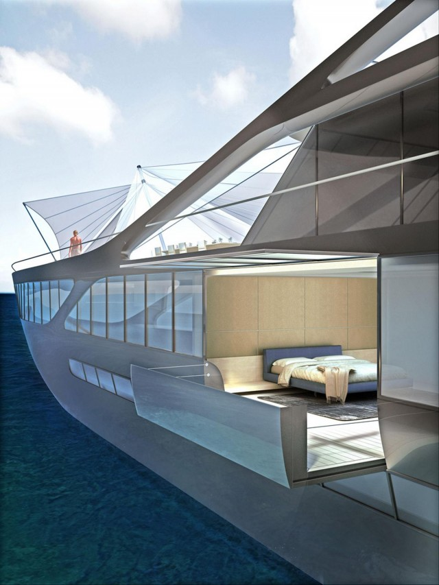 Jolly Roger mega-yacht by Palomba Serafini associati