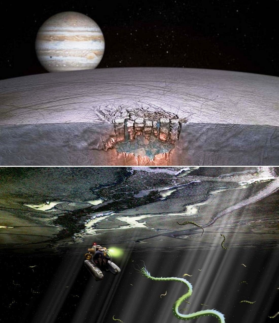 Jupiter's Europa moon Likeliest to support Life