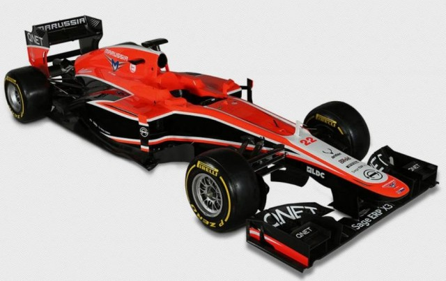 Marussia launches MR02 F1 (4)