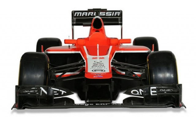 Marussia launches MR02 F1 (3)