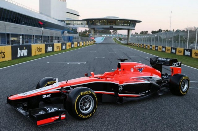 Marussia launches MR02 F1 (2)