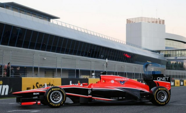Marussia launches MR02 F1 (1)