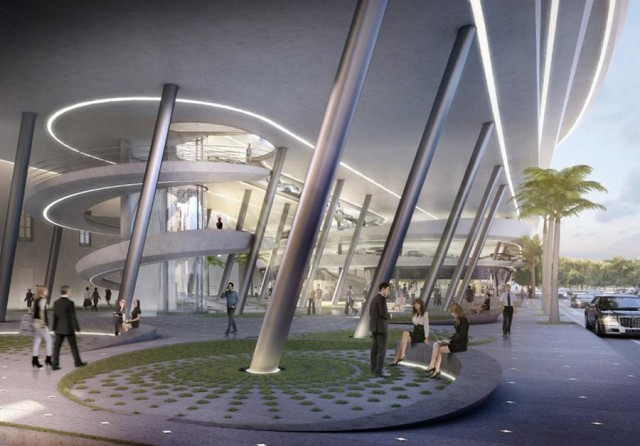 Miami Beach Parking Garage by Zaha Hadid architects (6)