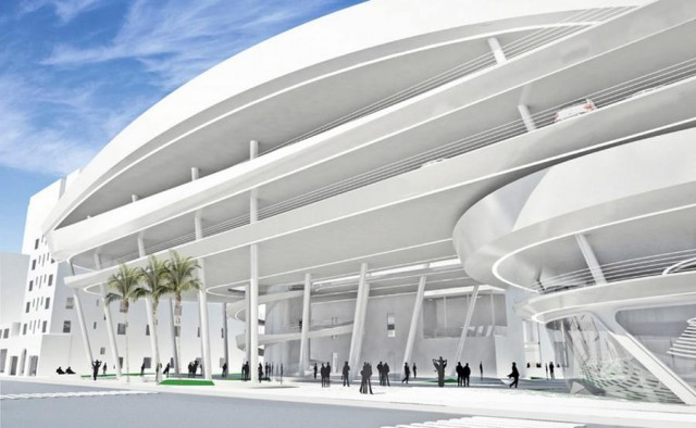 Miami Beach Parking Garage by Zaha Hadid architects (5)