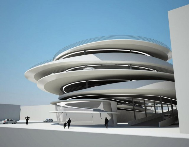Miami Beach Parking Garage by Zaha Hadid architects