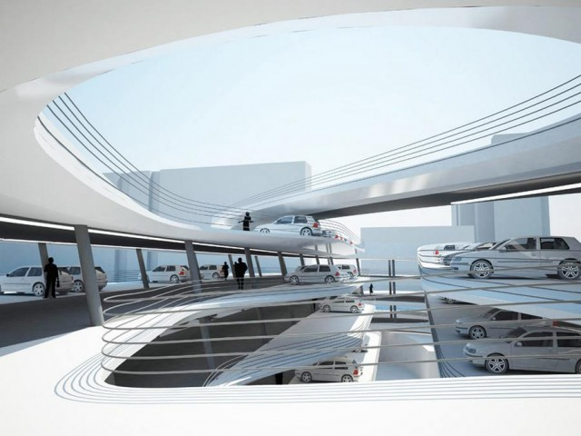 Miami Beach Parking Garage by Zaha Hadid architects (1)