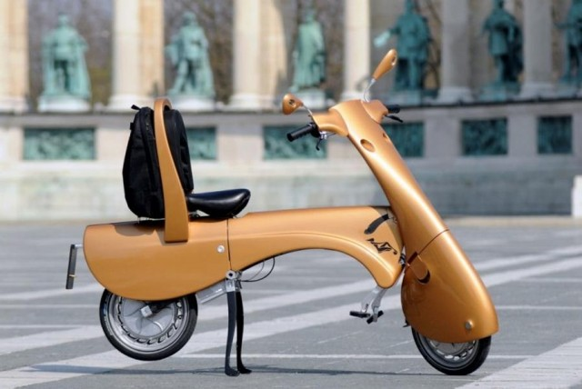Moveo electric folding scooter (4)