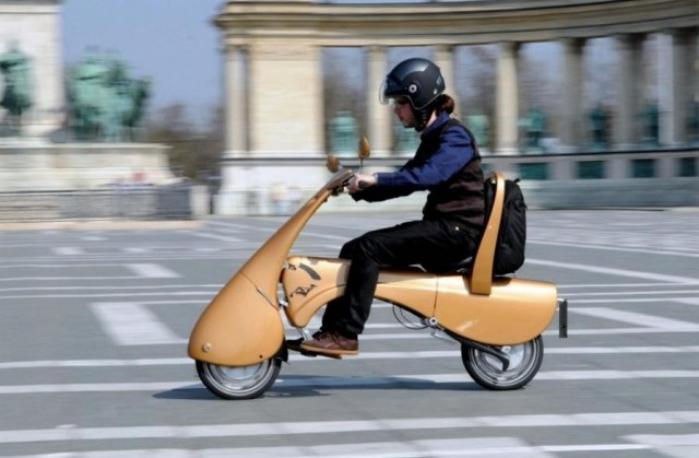 Moveo electric folding scooter (3)