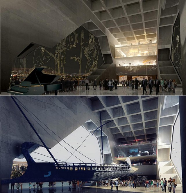 Piraeus Antiquities Museum by Series et Series