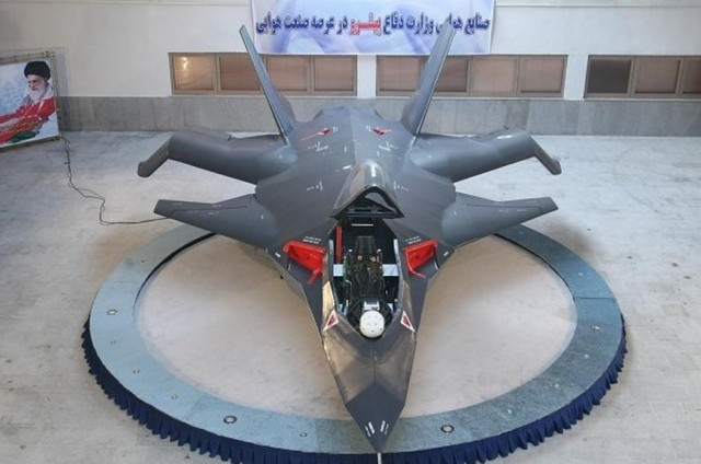 Qaher F-313 Iran's stealth fighter