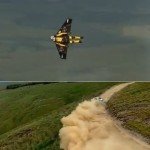 Jetman vs. Rally Car