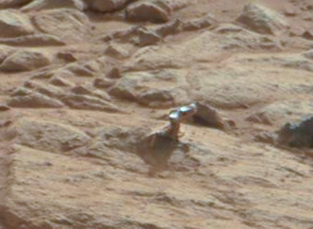 Scientist Explains the Weird Thing on Mars