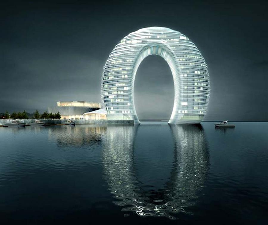 Sheraton Huzhou Hot Spring resort by MAD architects (4)