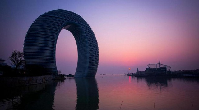 Sheraton Huzhou Hot Spring resort by MAD architects (1)