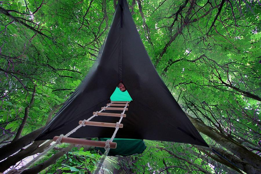 Tentsile Stingray suspended tent (6) & Tentsile Stingray suspended tent | wordlessTech
