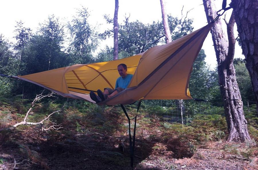 Tentsile Stingray suspended tent (4) & Tentsile Stingray suspended tent | wordlessTech