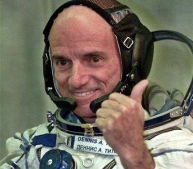 Dennis Tito, who in 2001, became the world's first space tourist