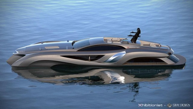 Xhibitionist luxury super-yacht
