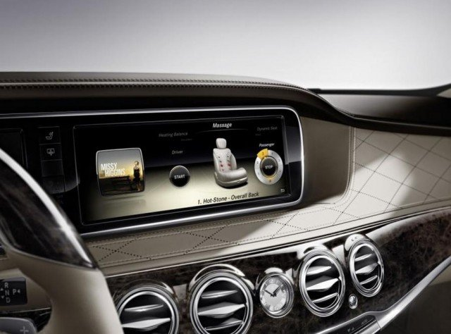 wordlesstech 2014 mercedes benz s class interior unveiled. Black Bedroom Furniture Sets. Home Design Ideas