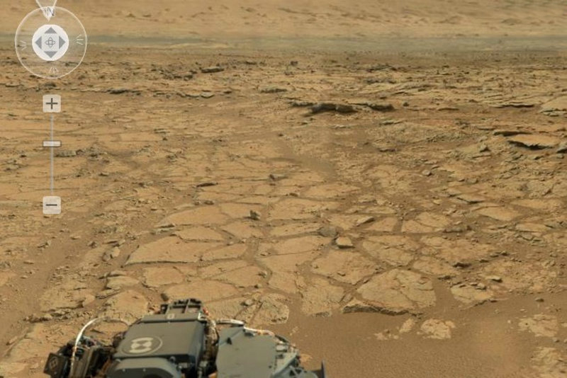 4 Billion Pixel Panorama from the Curiosity Rover ...
