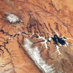 Astronaut's View of the Colorado Plateau