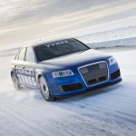 Audi RS6 at 208 mph... on ice