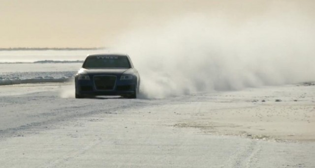 Audi RS6 at 208 mph... on ice (3)
