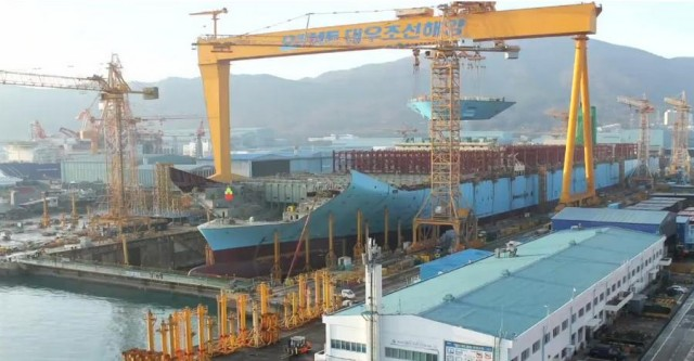 Building the World's Largest Ship