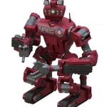 CHIMP Human-Scale Rescue Robot