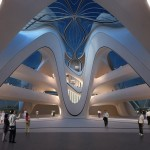 Changsha Meixihu Culture and Art Centre by Zaha Hadid A...