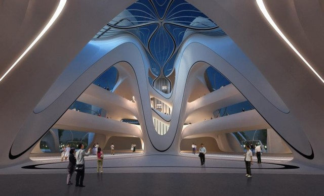 Changsha Meixihu Culture and Art Centre by Zaha Hadid Architects