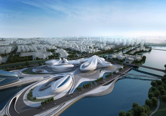 Changsha Meixihu Culture and Art Centre by Zaha Hadid Architects (6)