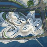 Changsha Meixihu Culture and Art Centre by Zaha Hadid Architects (5)