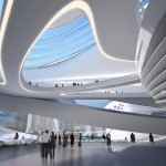Changsha Meixihu Culture and Art Centre by Zaha Hadid Architects (4)