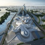 Changsha Meixihu Culture and Art Centre by Zaha Hadid Architects (3)