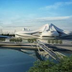 Changsha Meixihu Culture and Art Centre by Zaha Hadid Architects (2)
